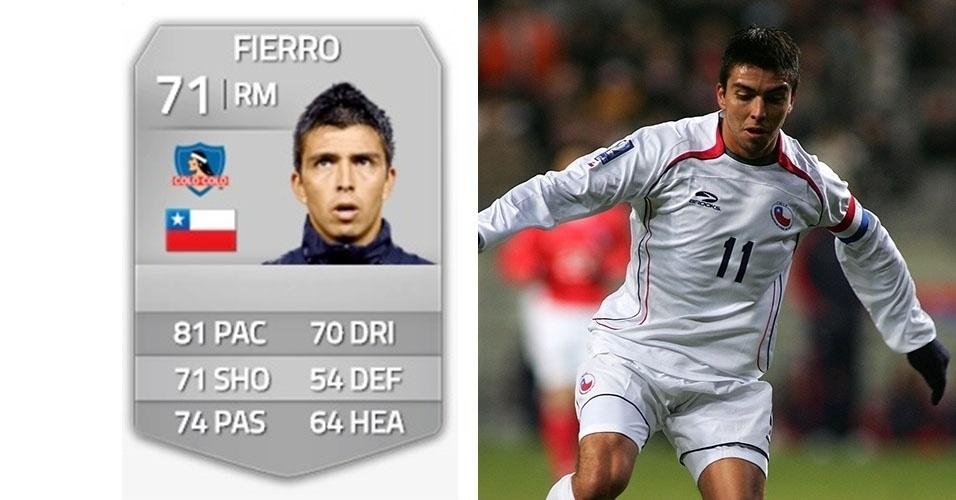 Fierro, ex-Flamengo, espera receber R$ 200 mil da criadora do Fifa Soccer