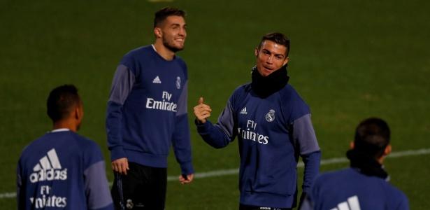 Cristiano Ronaldo treina com Real para o Mundial de Clubes: Sergio Ramos é dúvida