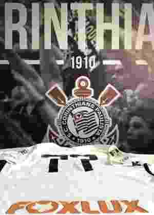 Corinthians anuncia patrocinador e promete camisa de R  100 milhões em 2017 1484bebf96822