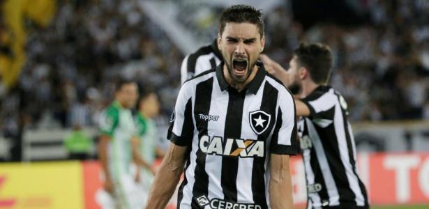 Rodrigo Pimpão tem sido um dos destaques do Botafogo na Libertadores