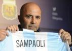 """Sampaoli nega existência de """"amigos de Messi"""": """"Seleção não é de um grupo"""" - Divulgação/AFA"""