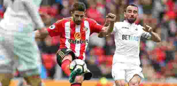 Fabio Borini se destacou no Sunderland - SCOTT HEPPELL/AFP