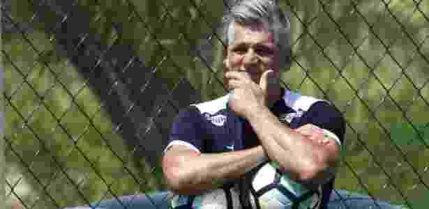 Leo Percovich retorna ao Flu duas décadas depois de defender o gol tricolor - Mailson Santana/Fluminense