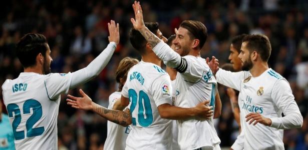 Real Madrid conseguiu vitória sobre o Eibar no Santiago Bernabéu - Juan Medina/Reuters