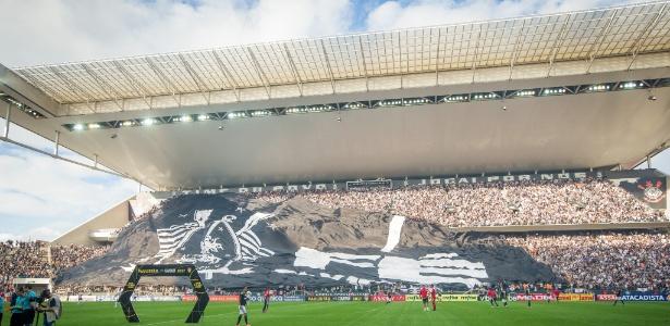 Corinthians já jogou 120 partidas em Itaquera, 33 delas na temporada 2017