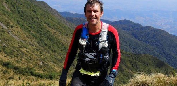 Eric Welterlin, atleta francês, se perdeu na Serra da Mantiqueira, em SP  - Reprodução