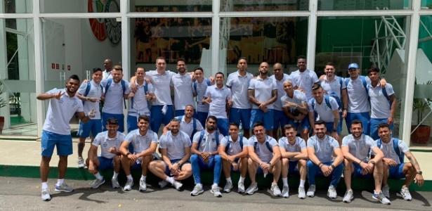 Sem suspensos ou lesionados, Palmeiras terá todo elenco na viagem para o RJ - Reprodução/Twitter