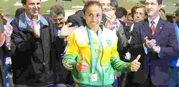 Marta colocou os pés na calçada da fama em 2007, mas refez molde em 2018 - Rubens Cavallari/Folhapress