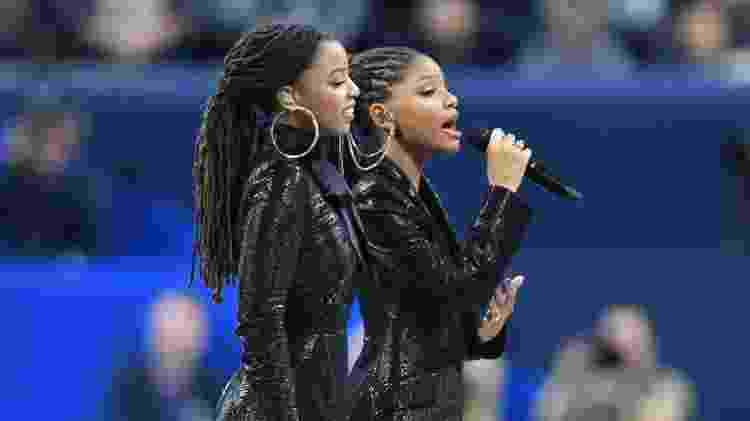 Chloe & Halle cantando - Christopher Hanewinckel/USA TODAY - Christopher Hanewinckel/USA TODAY