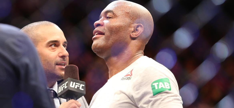 Anderson Silva em ação no UFC 234 - Jon Roberts/ Ag Fight