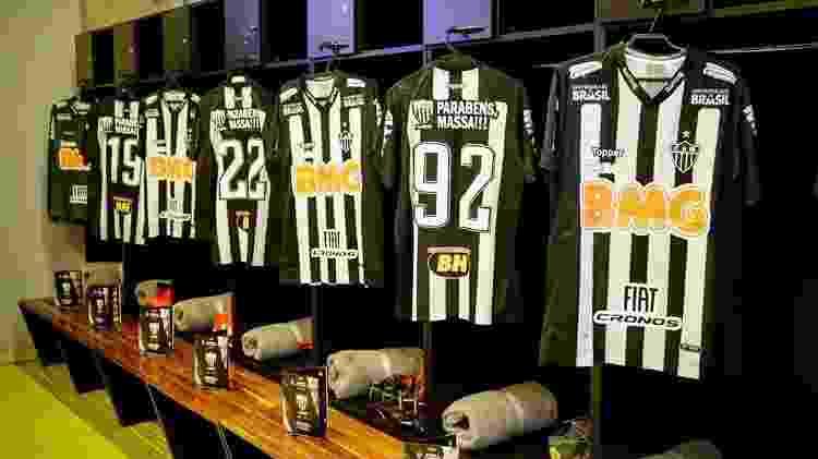 Uniforme do Atlético-MG - Divulgação/Atlético-MG - Divulgação/Atlético-MG