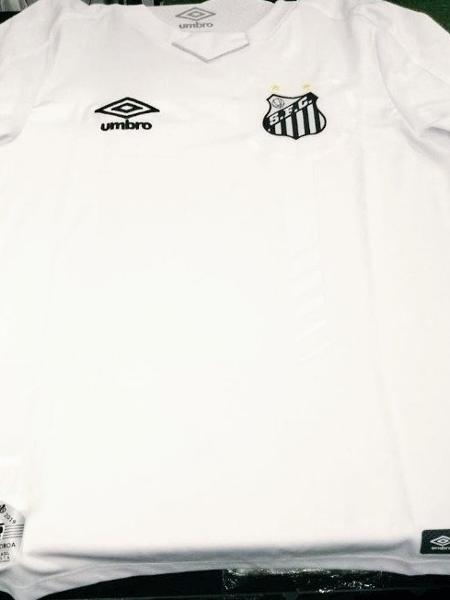 6b8934b475 Camisa do novo uniforme branco do Santos vaza na internet - 17/04 ...