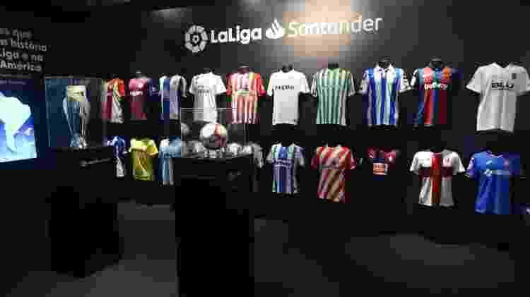 La Liga inaugura fan zone em shopping no Rio de Janeiro - Divulgação