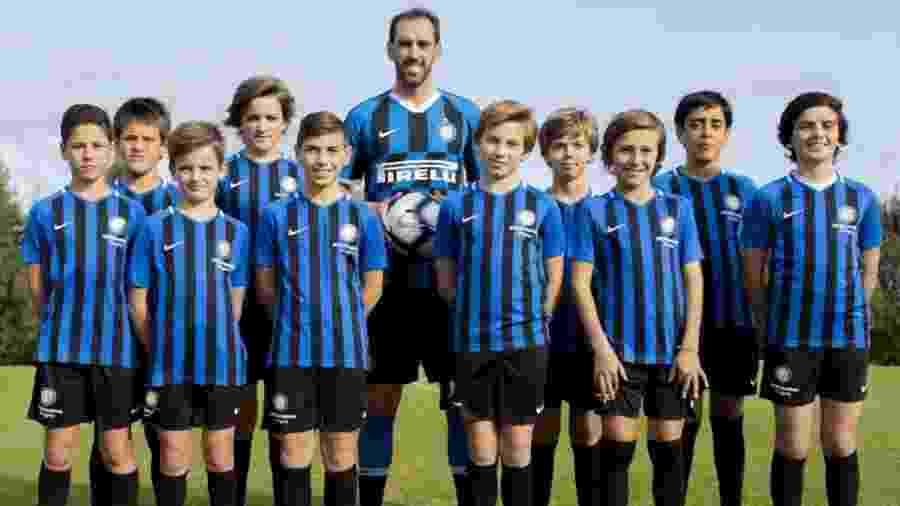 Diego Godín é o novo reforço da Inter de Milão - Divulgação