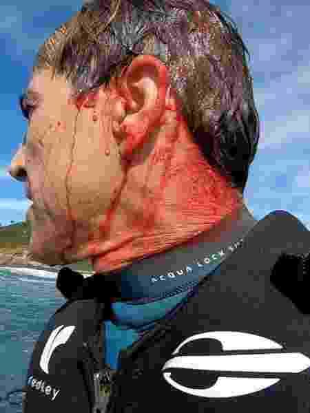 Carlos Burle estava em expedição na Ilha Mãe, em Niterói (RJ) - Reprodução/Instagram