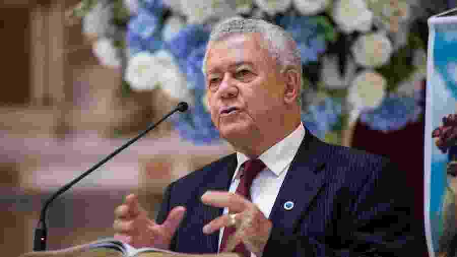 José Dalai Rocha, presidente do Conselho Deliberativo do Cruzeiro, descartou antecipar eleições de maio - Bruno Haddad/Cruzeiro