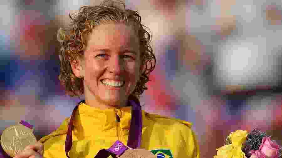 Yane Marques foi medalhista de bronze no pentatlo moderno de Londres-2012 - Alex Livesey/Getty Images