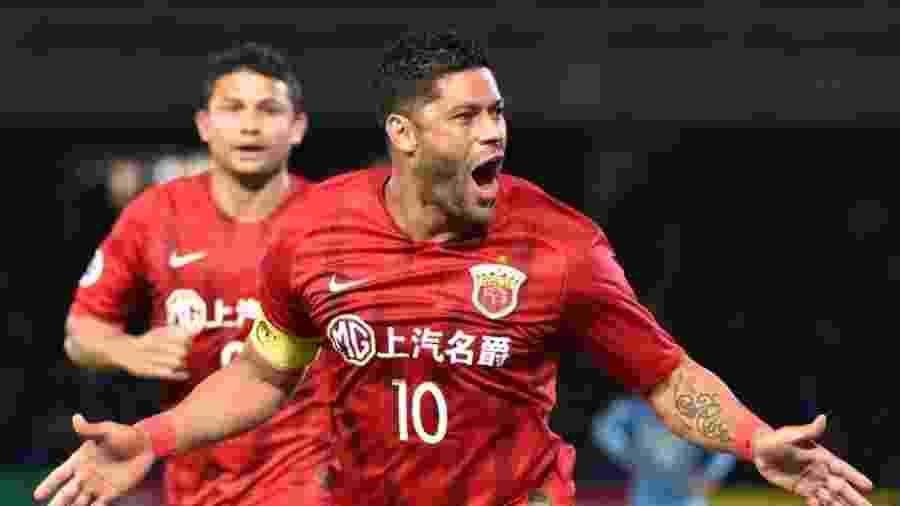 Hulk, do Shanghai SIPG, é uma das estrelas do Campeonato Chinês - AFP