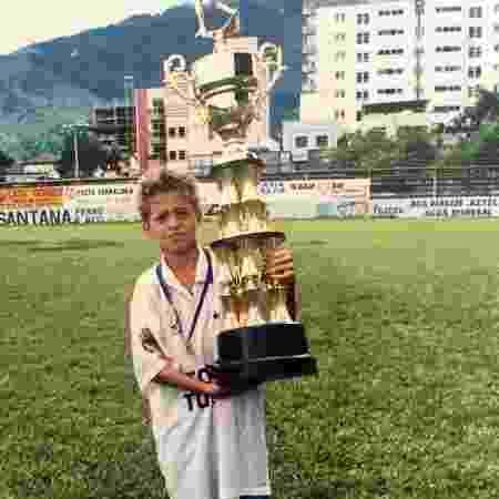 Lucas Venuto na infância 1 - Acervo pessoal - Acervo pessoal