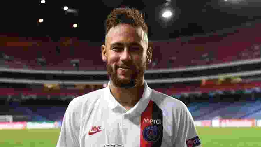 Neymar foi eleito o melhor em campo na partida de ontem do PGS contra a Atalanta - Reprodução/Instagram @neymarjr