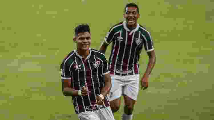 Evanílson é o melhor do Fluminense na temporada, principalmente jogando com Marcos Paulo - Lucas Merçon/Fluminense FC - Lucas Merçon/Fluminense FC
