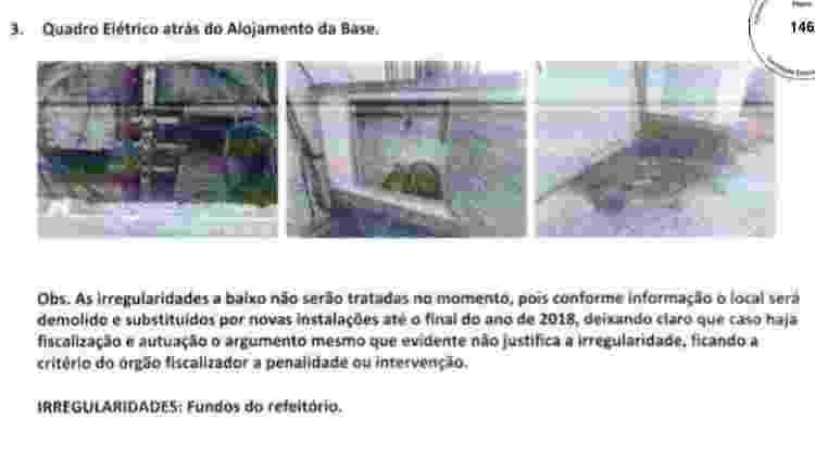 E-mail do Flamengo sobre problemas elétricos no Ninho - Reprodução - Reprodução