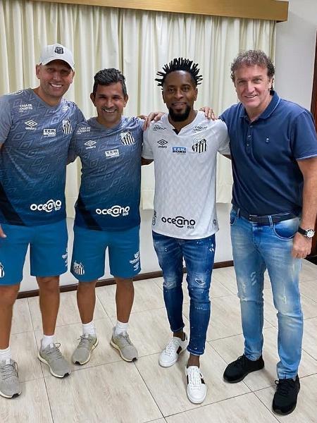 Zé Roberto comemora classificação do Santos na Libertadores - Instagram
