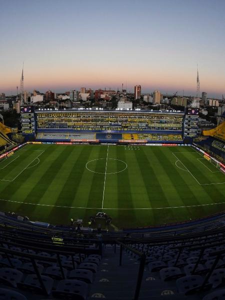 La Bombonera, estádio do Boca, que recebeu a visita dos jogadores do Ceará - Divulgação/CABJ