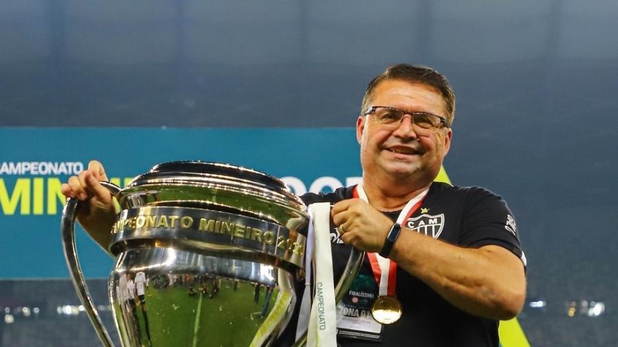 Júnior Chávare chegou ao Atlético-MG em maio de 2019 e deixou o Galo por decisão da nova diretoria, em fevereiro de 2021 - Pedro Souza/Atlético-MG