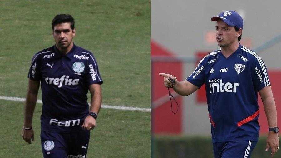 Abel Ferreira e Fernando Diniz