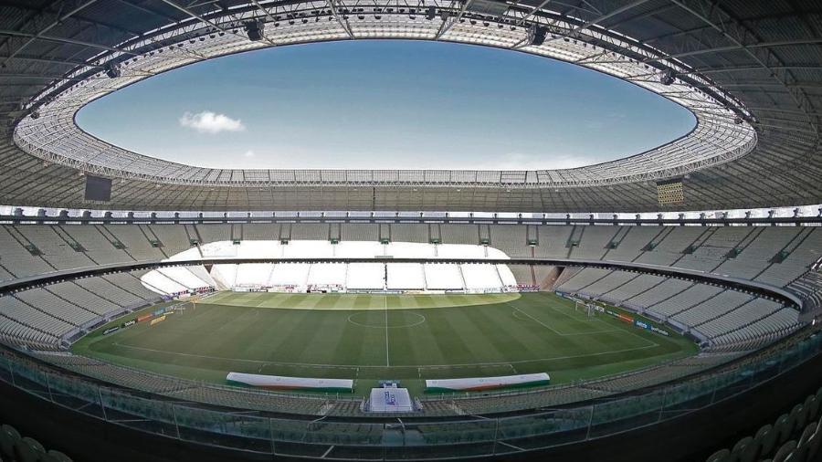 Castelão pronto para receber jogo do Fortaleza  - Rafael Ribeiro/Vasco