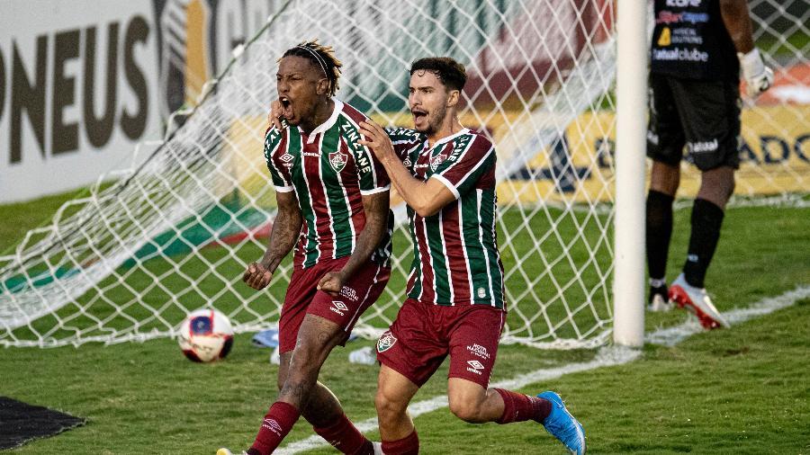 Fluminense deve ter Abel Hernández no ataque contra a Portuguesa-RJ na semifinal do Campeonato Carioca - Jorge Rodrigues/AGIF