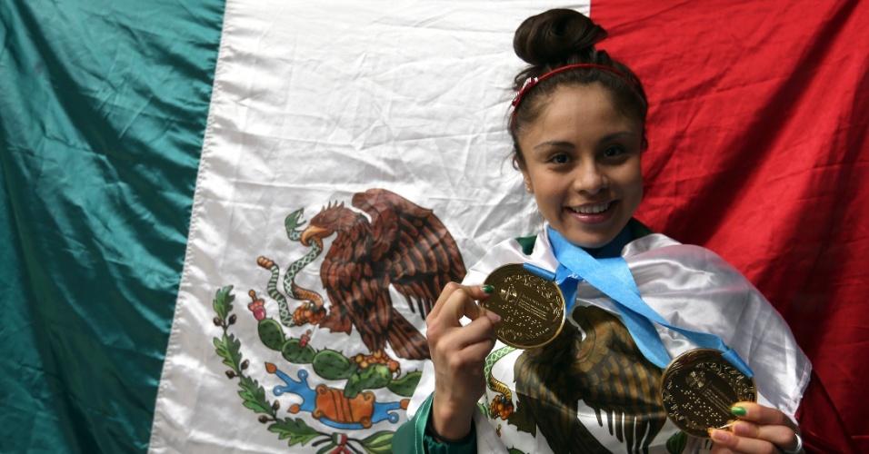 A mexicana Paola Longoria brilha em Toronto e deixa o Pan com três ouros no raquetebol