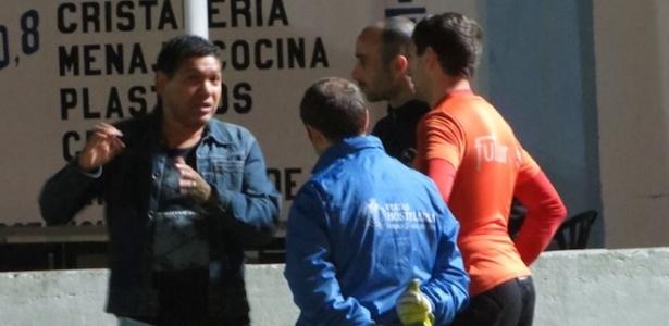 Revelado pelo Vasco, Donato (à esq.) se naturalizou e defendeu a seleção espanhola