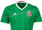 Possíveis camisas de México e Colômbia para Copa América vazam na internet - Reprodução/Todo Sobre Camisetas