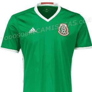 Nova camisa do México vaza na internet - Reprodução/Todo Sobre Camisetas