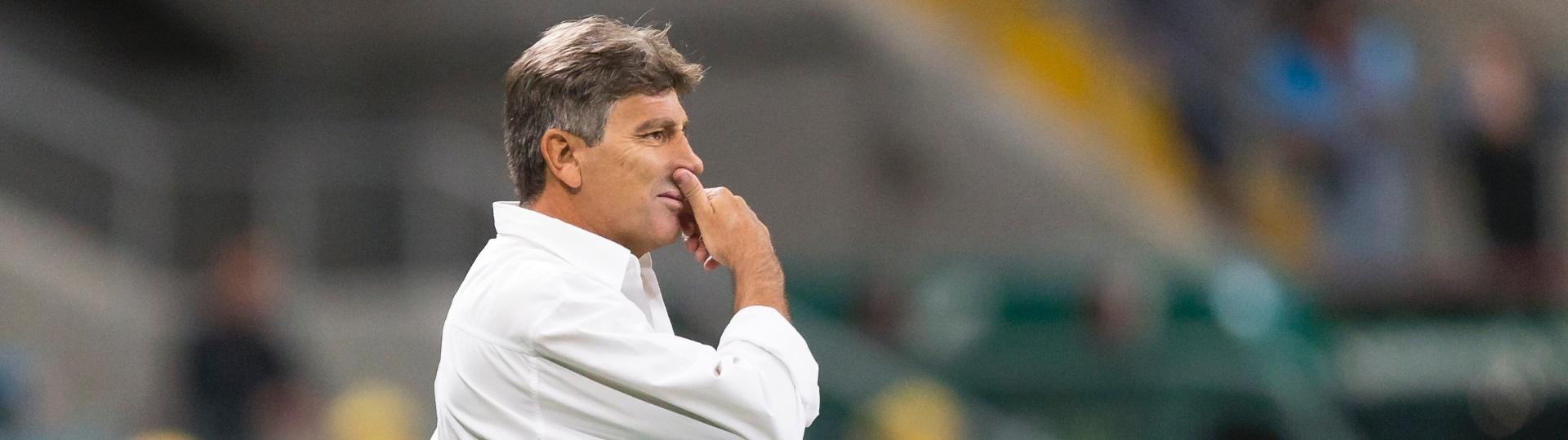 Renato Gaúcho faz a estreia pelo Grêmio contra o Atlético-PR
