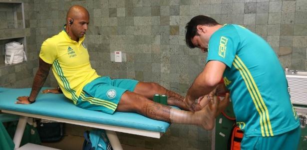 Palmeiras cede direitos de Felipe Melo em garantia por dívida de Wesley