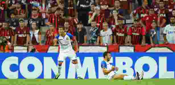 Noguera igualou o placar no final do primeiro tempo - AFP / Heuler Andrey - AFP / Heuler Andrey