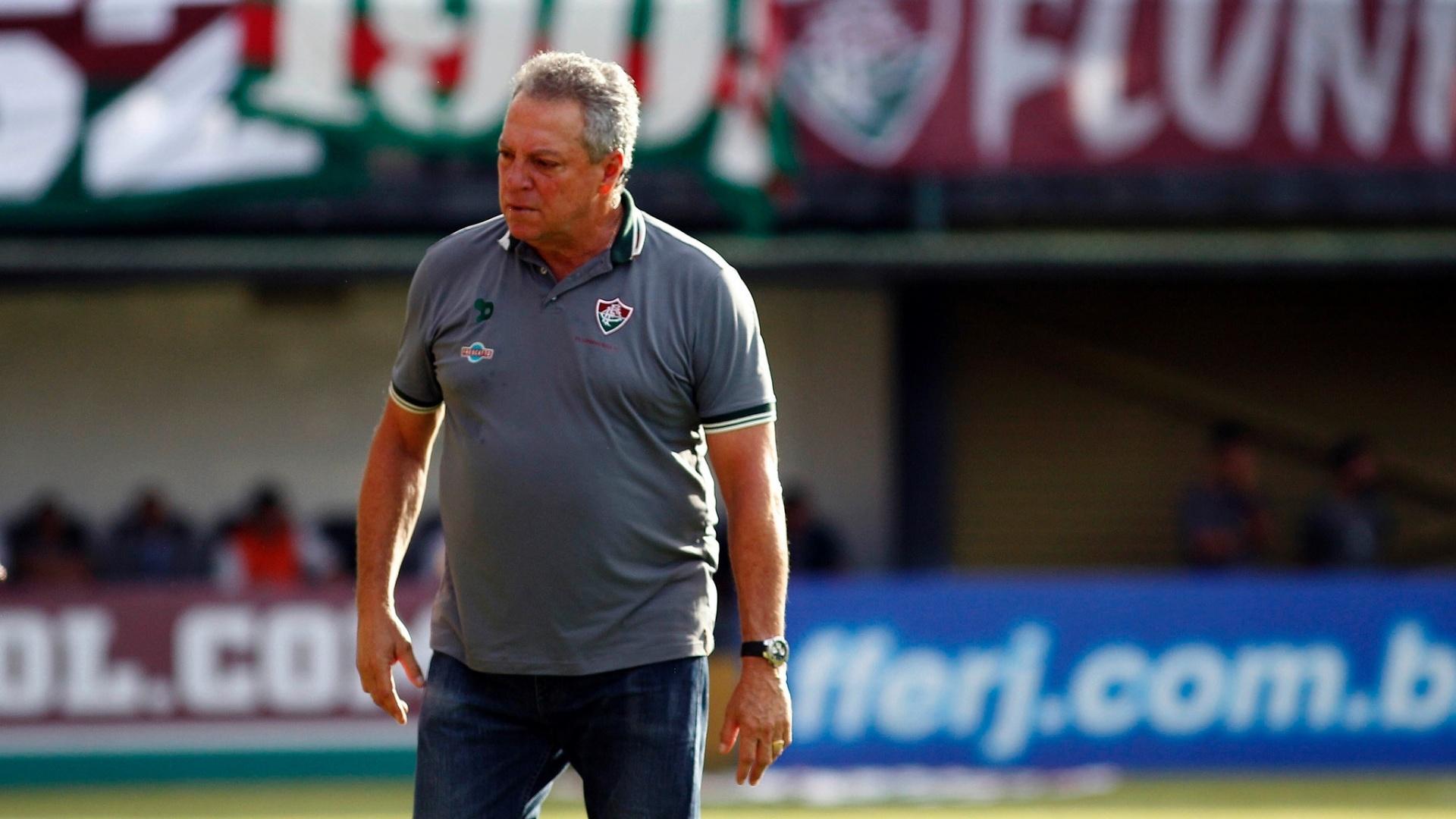 O técnico Abel Braga, do Fluminense