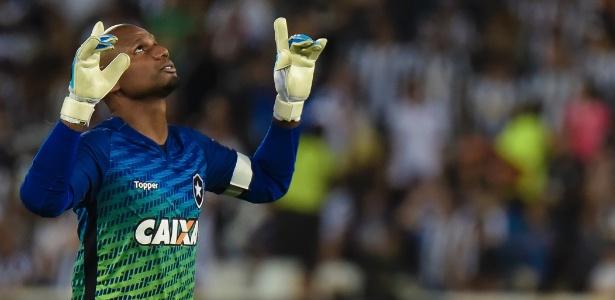 Jefferson retomou vaga de titular do Botafogo após se recuperar de lesão e esperar