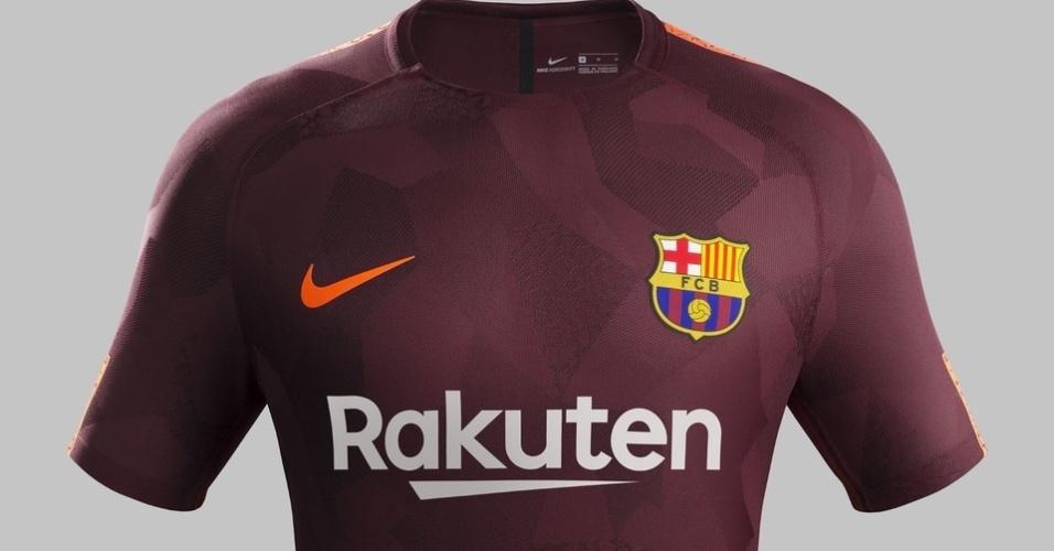 A nova camisa 3 do Barcelona