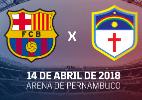 Barcelona anuncia amistoso de times de