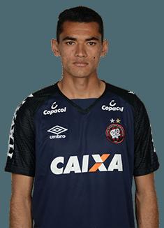 Aderbar Melo dos Santos Neto, goleiro do Atlético-PR