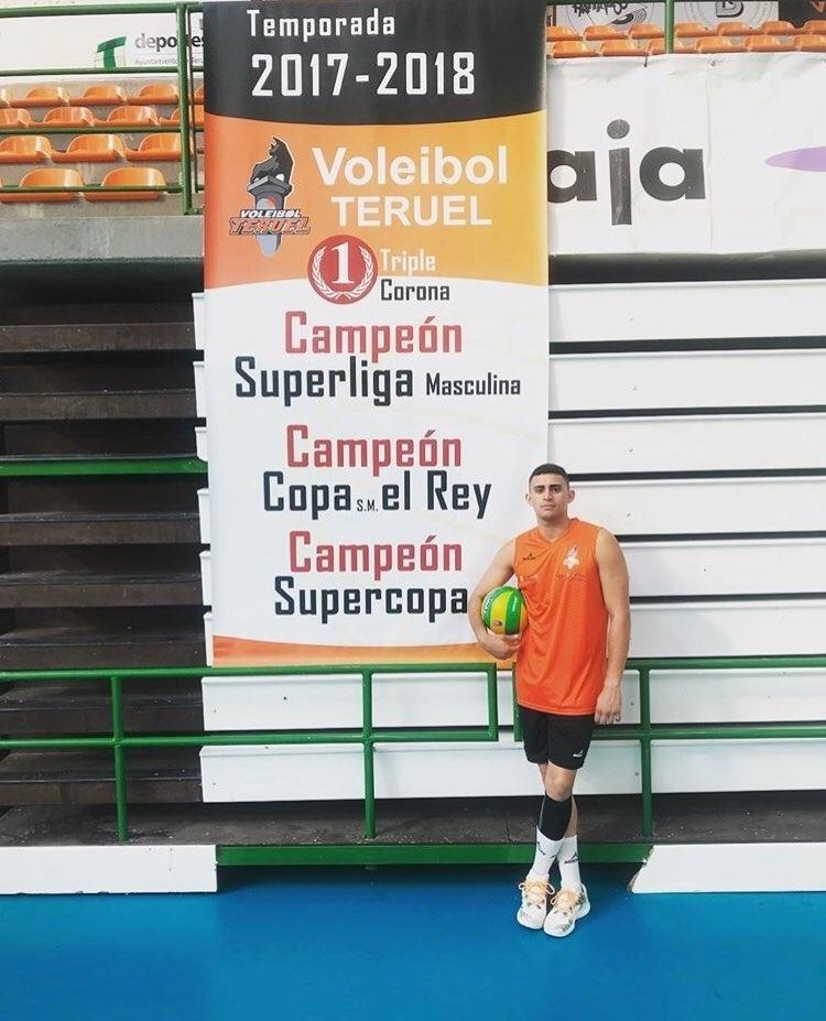 Vinicius Noronha volei espanhol