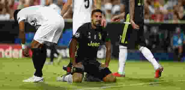 Khedira perdeu gol incrível para a Juventus - REUTERS/Sergio Perez
