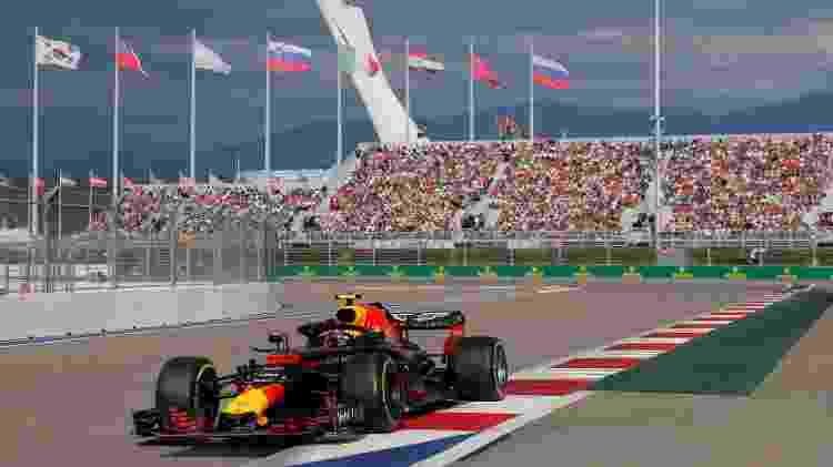 Verstappen no GP da Rússia - Maxim Shemetov/Reuters - Maxim Shemetov/Reuters