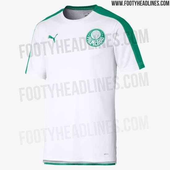 Camisa pré-jogo do Palmeiras