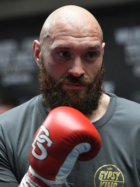 Tyson Fury, pugilista britânico campeão mundial  - John McCoy/Getty Images
