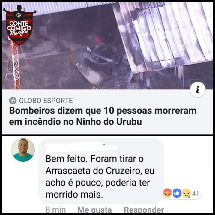 Homem tem foto usada em perfil fake que comemora tragédia e recebe ameaça de morte
